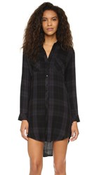 Rails Nadine Shirtdress Jet Charcoal