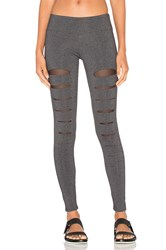 Solow Incise Legging Charcoal