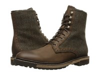 Woolrich Bootlegger Bitter Chocolate Tweed Wool Men's Boots Brown
