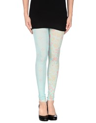 Maison Martin Margiela Mm6 By Maison Margiela Trousers Leggings Women Turquoise