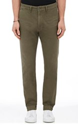 Citizens Of Humanity Men's Anders Cotton Chino Trousers Dark Green