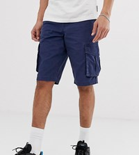 D Struct Cargo Shorts Navy