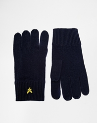 Lyle And Scott Gloves Black