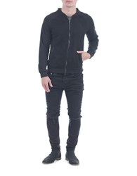 Sovereign Code Sean Front Zip Raglan Jacket Black