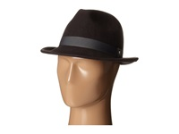 Stacy Adams Wool Felt Fedora W Grosgrain Band Grey Fedora Hats Gray