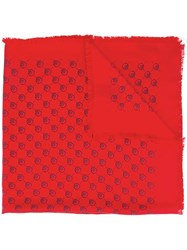 Guccighost Modal Shawl Red