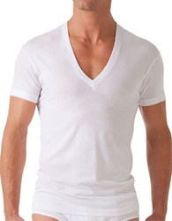 2Xist Slim Fit Pima Cotton Tee White
