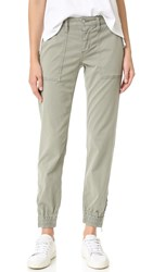 Joe's Jeans Flight Zip Ankle Pants Leaf