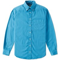 Gitman Brothers Vintage Gitman Vintage Overdyed Oxford Shirt Blue
