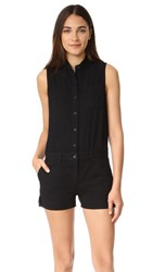 Rag And Bone Jean Dumont Romper Black