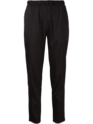 T By Alexander Wang Loose Fit Trousers Black