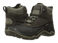 Keen Durand Polar Shell Black Olive Brindle Men's Waterproof Boots Brown
