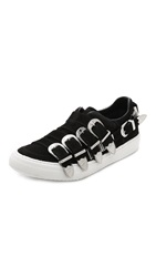 Toga Pulla Buckle Sneakers Black