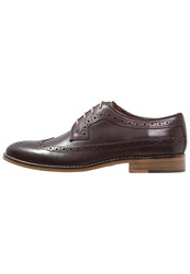 Burton Menswear London Deane Laceups Burgundy Bordeaux