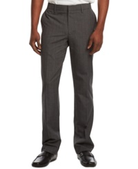 Kenneth Cole Reaction Kenneth Cole Reation Slant Pocket Dress Pants Charcoal Combo