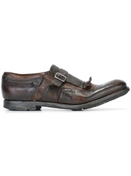 Church's Monk Shoes Brown