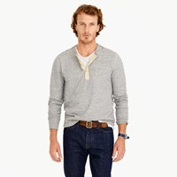 J.Crew Wallace And Barnes Double Knit Henley