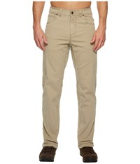 Royal Robbins Billy Goat Stretch Boulder Pants Khaki Men's Casual Pants