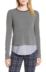 Bailey 44 Manchester Layered Look Sweater Marengo