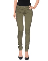 Fifty Four Trousers Casual Trousers Women Military Green