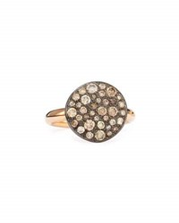 Pomellato Sabbia Rose Gold And Brown Diamond Ring