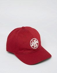 Levi's Baseball Cap In Red Red