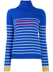 Giada Benincasa Turtle Neck Jumper Blue
