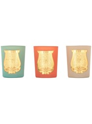 Cire Trudon Set Of Three Candles With Box Multicolour