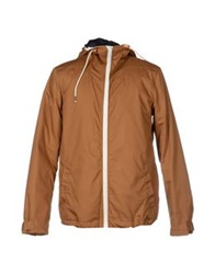 Solid Jackets Camel