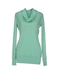 Zinco Sweaters Light Green