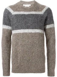 Marc Jacobs Striped Sweater Brown