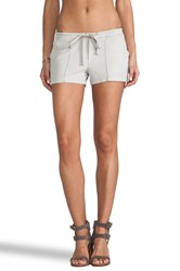 James Perse Pintucked Twill Short Gray