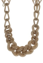 S.Oliver Necklace Ice Gold Coloured