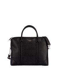 L.C. Small Leather Briefcase Black Givenchy