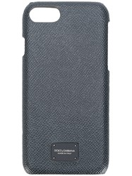 Dolce And Gabbana Iphone 7 Textured Cover Grey