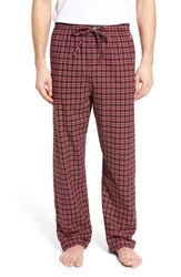 Ralph Lauren 'S Flannel Pajama Pants Norfolk Plaid Crescent Cream