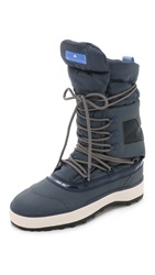 Adidas By Stella Mccartney Winter Boots Bold Onix Antique White Blue