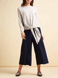 Modern Rarity Tailored Culottes Navy