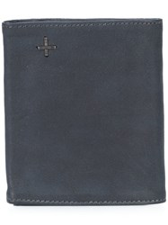 Ma Foldover Soft Wallet Blue