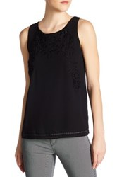 Philosophy Embroidered Tank Black