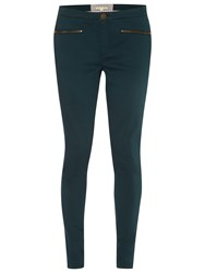 White Stuff Jenny Zip Jeggings Teal