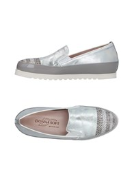 Donna Soft Sneakers Silver