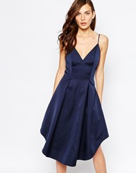 Keepsake Heart Strong Midi Dress In Navy Navy