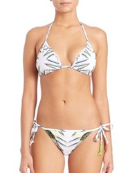 Lalesso Two Piece Pembe Tatu Bikini Black White