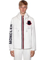 Moncler Montreal Micro Tech Casual Jacket White