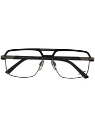 Cazal Aviator Frame Glasses Black