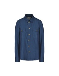 8 Shirts Shirts Dark Blue