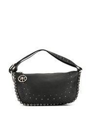 Christian Dior Pre Owned Peace And Love Hobo Bag Black