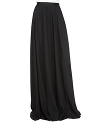 Jenny Packham Glitter Crepe Full Skirt Black