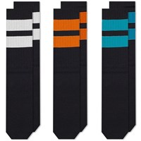 Neighborhood Classic Sock 3 Pack Black